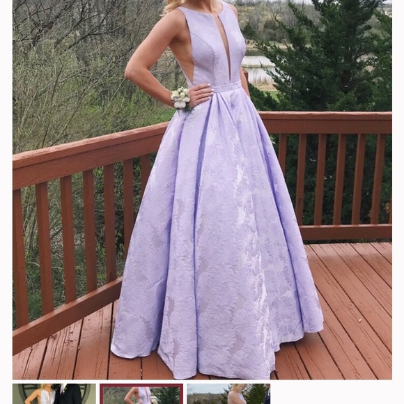 Sherri Hill Dresses & Skirts - Purple Sherri hill prom dress